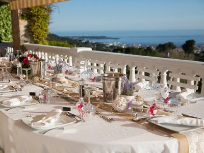 Photo for Heights of Cannes – sleep up to 25 - sea views 180°