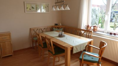 Photo for In Eckernförde on the Baltic Sea: Comfortable cottage with fireplace near the beach