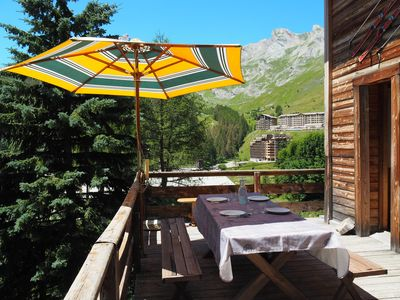 Photo for Superb Charming Chalet, ideally located in the resort La Foux d'Allos 1800