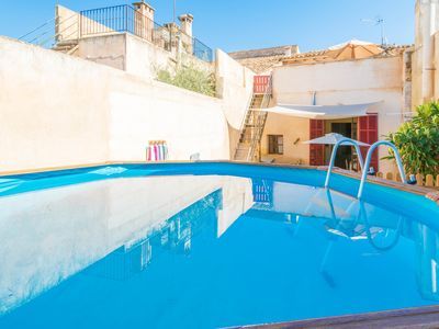 Photo for ES FORN - Apartment with private pool in Petra.