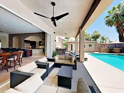 Photo for Luxe 5BR/5BA - Private Pool, Hot Tub, Game Room, Casita, 1 Block to Downtown