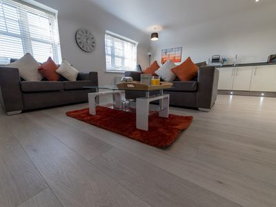 Photo for Helios Court Penthouse Serviced Apartment by Ferndale