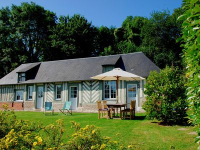 Photo for Charming classic country house in Honfleur, with garden, minutes from the sea.