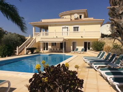 Photo for Detached Villa With Large Private Pool, Sea View and free Wifi