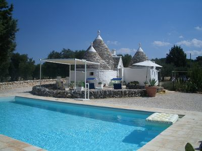 Photo for Luxury One Bedroom Trullo With Private Swimming Pool