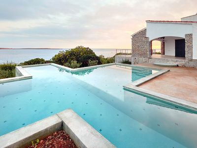Photo for Breathtaking location by the sea - Villa Aire