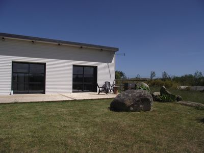 Photo for Finistere, Cleder, single storey house, large garden, 350m Kerfissien beach