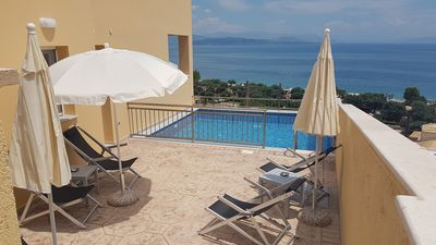 Photo for BARBATI OCEAN VIEW (Villa Aurora)