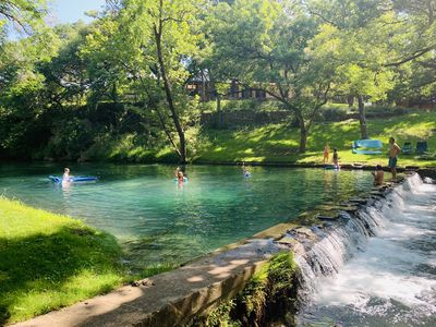 Photo for Stylish studio with SPRING FED SWIMMING HOLE