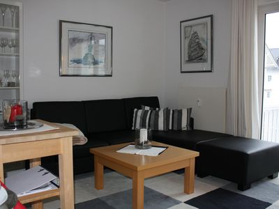 Photo for Cosy apartment with balcony, 400 meters to the beach, dog on request