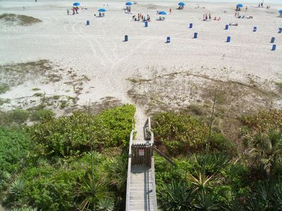 Photo for Oceanfront Condo, Play in the surf and sand or travel the area!