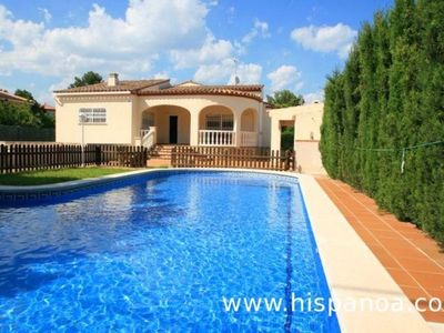 Photo for Rental in Ametlla de Mar villa for 8 people. with fenced pool