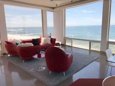 Stunning Ocean front property overlooking the famous Windansea Beach.