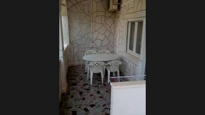 Photo for One bedroom apartment with terrace Poljica (Trogir)