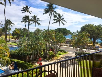 Photo for Maui Parkshore 304 2Bd/2Ba, Gorgeous, Ocean View, Across Beach, Sleeps 6