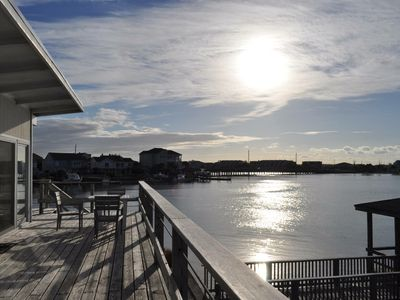 Photo for Best views on the island! Newly renovated 3 bedroom cottage with boat dock.