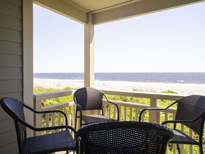Photo for Scarlett Sunsets: 2 Bed/2 Bath Oceanfront Condo with Community Pool