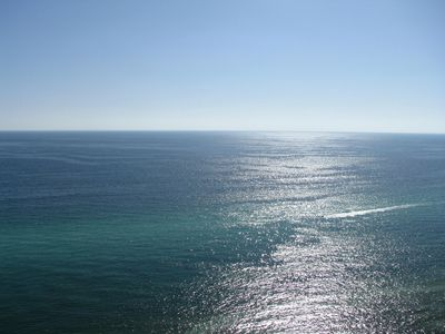 Spectacular view of the gulf -  see sea creatures and more from the 22nd floor!