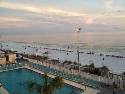 Photo for No owner fees-Free beach chairs-Gulf front w/beautiful beach view-1 BD, 2 BTH