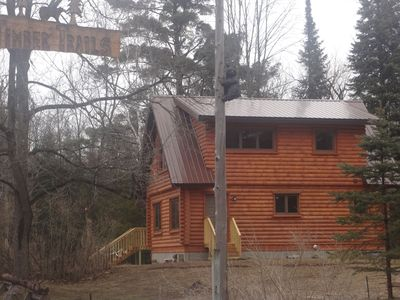 Photo for LogCabin Home Just Minutes From Sleeping Bear Dunes N.