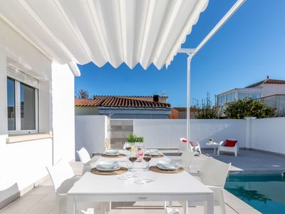 Photo for Vacation home Casa Blanca in Empuriabrava - 6 persons, 3 bedrooms