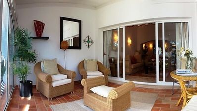 Photo for Vale do Garrao Apartment, Sleeps 4 with Air Con and WiFi