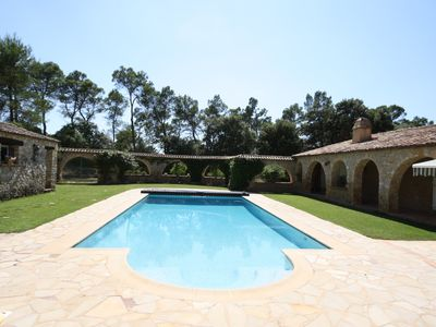 Photo for LOVELY DELUXE 3 BR VILLA WITH POOL IN CORRENS (6 PERS)