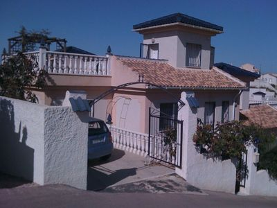 Photo for Villa with communal pool and fantastic views. The villa also has wifi.