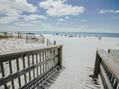Photo for 2 BR / 2 BA Beachfront Condo, Between The Hangout & State Pier. Great Location !