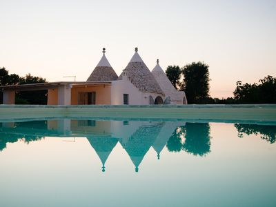 Photo for TRULLO GABRIELE with swimming pool