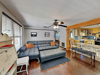 Photo for Modern Lincolnville Home w/ Yard & Private Parking - Walk to Historic Sites!