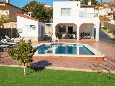 Photo for Club Villamar - Brand new villa with private pool and located at 4 minutes driving from the beach...