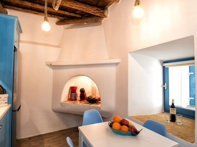 Photo for Premium Cycladic Studio - Perfect for Families - Couples, The Gavrion's Nest