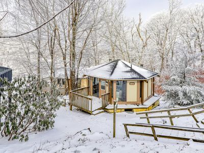 Photo for Easy ski access with this slope side home
