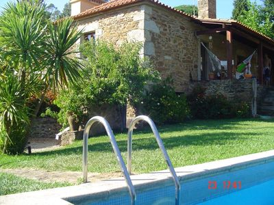 Photo for HOUSE DOMAINE - VILAR DE MOUROS WITH PRIVATE SWIMMING POOL