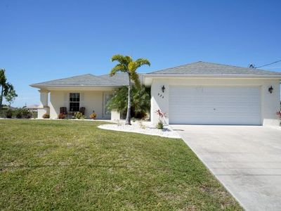 Photo for Villa Marr - Cape Coral 3b/2ba  home w/solar heated pool, Fresh Water Canal, HSW Internet,
