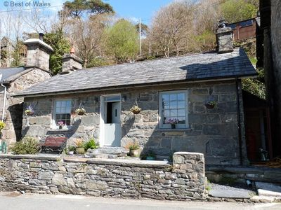 Photo for Stunning and romantic,  luxury cottage in the heart of Snowdonia.