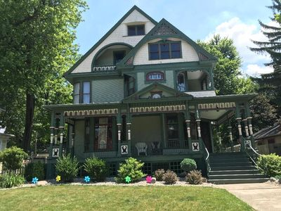 Photo for Queen Victorian House in the historical district walking distance to downtown.
