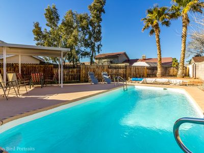Your Place in the Sun! Quiet House, Private Pool, Hot Tub
