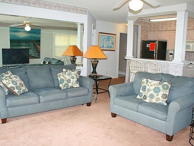 Photo for Brunswick Plantation, 2 Bedroom, 2 Bath, Full Kitchen, W/D, Beaches nearby, Enjoy our 27 Hole Golf Course(604)