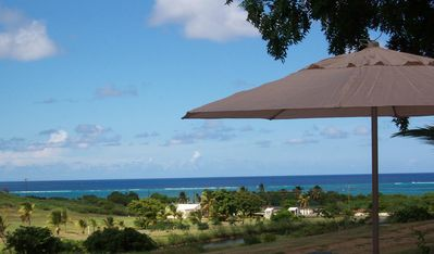Palm Villa's Beautiful Ocean View From the Patio