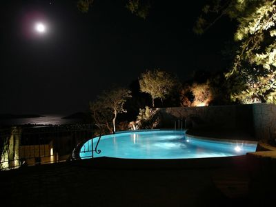Photo for in 'House Beautiful', secluded pool and terraces, sauna; sea 900 mtr, golf 30 km