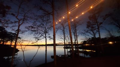Photo for Secluded Lakefront Home on Lake Wylie with main channel Views