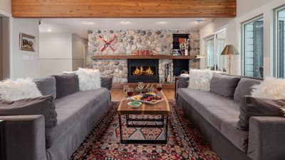 Photo for Newly Remodeled rustic Scandinavian Home in Teton Village, ski in/out
