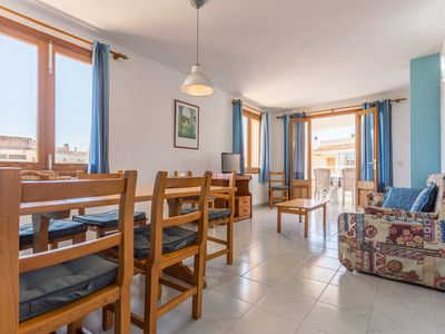 Photo for 3 Bedroom Apartment 50 meters from the beach of Colonia de Sant Jordi