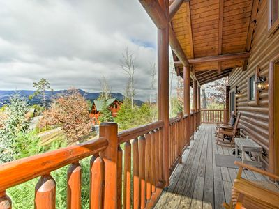 Photo for 3BR Cabin Mins from Great Smoky Mountains Parkway!