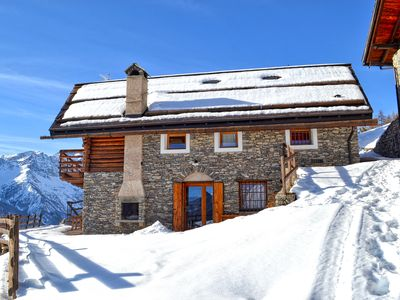 Photo for Baita Le Broue Jafferau - Exclusive Chalet