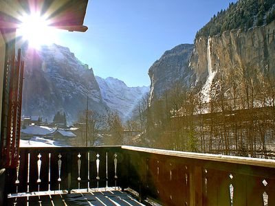Photo for Apartment Stocki  in Lauterbrunnen, Bernese Oberland - 4 persons, 1 bedroom