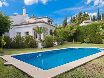Photo for Spacious villa in the Marbella Country Club, 5Km to Puerto Banus, next to Las Brisas Golfclub