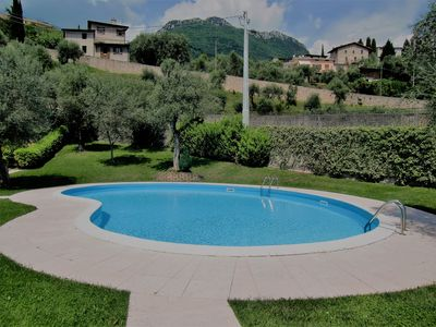 Photo for 1BR Apartment Vacation Rental in Cecina, Toscolano Maderno, Lombardia